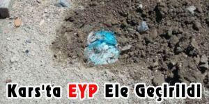Kars'ta EYP ele geçirildi