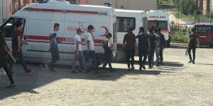 Kars'ta Yakalanan 21 yabancı uyruklu vatandaş Van'a gönderildi