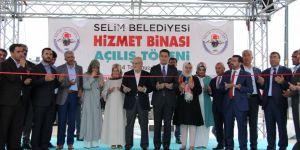 Selim, Yeni Belediye Hizmet Binasına Kavuştu