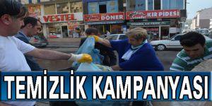 Kars Belediye'sinden temizlik kampanyası