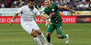 Çaykur Rizespor Erzurumspor maçı sonucu ve özeti