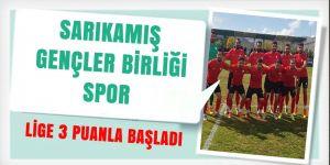 Sarıkamış Gençler Birliği Spor  Lige 3 puanla başladı