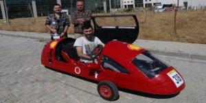 Bir liralık enerji ile 170 kilometre yol yapan araç ürettiler