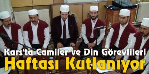 Kars'ta Camiler ve Din Görevlileri Haftası kutlanıyor