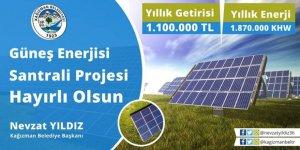 Kağızman Belediyesi GES Projesinde Sona Gelindi