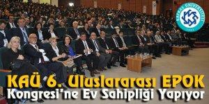 KAÜ 6. Uluslar arası EPOK Kongresi'ne ev sahipliği yapıyor