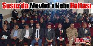 Susuz'da Mevlid-i Nebi Haftası!