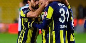 Fenerbahçe avantajı kaptı! Ziraat Türkiye Kupası: Fenerbahçe: 1 - Giresunspor: 0