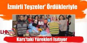 İzmirli Teyzeler' Ördükleriyle Kars'taki Yürekleri Isıtıyor
