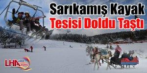 Sarıkamış Kayak Tesisi Doldu Taştı