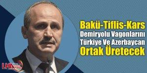 Bakü-Tiflis-Kars Demiryolu Vagonlarını Türkiye Ve Azerbaycan Ortak Üretecek