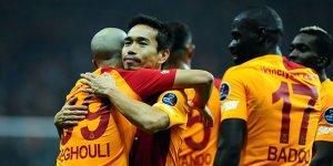 Galatasaray evinde 4 golle kazandı