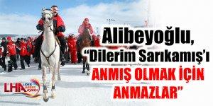 """Alibeyoğlu, """"Dilerim Sarıkamış'ı Anmış olmak için anmazlar"""""""