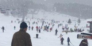 Sarıkamış Kayak Merkezi Hafta Sonu Doldu Taştı