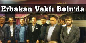 Erbakan Vakfı Bolu'da