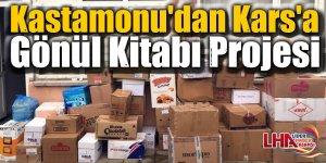 Kastamonu'dan Kars'a Gönül Kitabı Projesi
