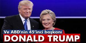 ABD´nin yeni başkanı Donald Trump