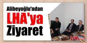 Alibeyoğlu'ndan LHA'ya Ziyaret