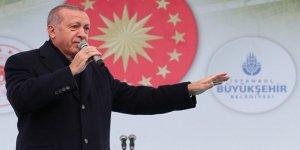 Cumhurbaşkanı Erdoğan'dan AKM temel atma töreninde önemli mesajlar!