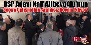 DSP Adayı Naif Alibeyoğlu'nun Seçim Çalışmaları Aralıksız Devam Ediyor!
