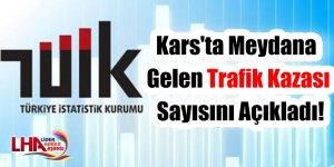 TUİK Kars'ta Meydana Gelen Trafik Kazası Sayını Açıkladı!