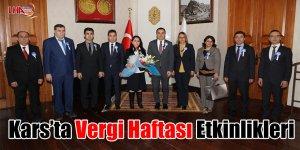 Kars'ta Vergi Haftası etkinlikleri