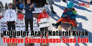 Kulüpler Arası Natürel Kızak Türkiye Şampiyonası Sona Erdi