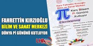 Fahrettin Kırzıoğlu Bilim Ve Sanat Merkezi Dünya Pi Gününü Kutluyor