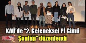 """KAÜ'de """"2. Geleneksel Pİ Günü Şenliği"""" düzenlendi"""