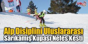 Alp Disiplini Uluslararası Sarıkamış Kupası Nefes Kesti