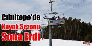 Cıbıltepe'de Kayak Sezonu Sona Erdi