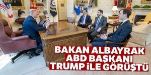Bakan Albayrak, Beyaz Saray'da Trump ile görüştü