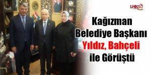 Kağızman Belediye Başkanı Yıldız, Bahçeli ile görüştü