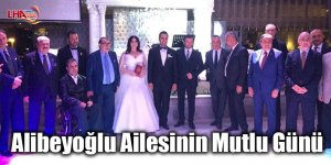 Alibeyoğlu ailesinin mutlu günü