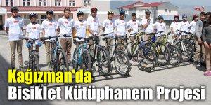Kağızman'da Bisiklet Kütüphanem Projesi