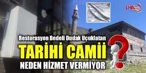 Tarihi Camii Neden Hizmet Vermiyor?