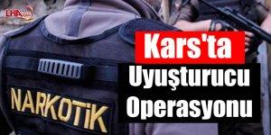 Kars'ta uyuşturucu operasyonu
