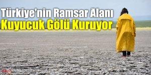 Türkiye'nin Ramsar Alanı Kuyucuk Gölü Kuruyor