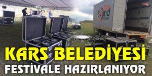 KARS BELEDİYESİ FESTİVALE HAZIRLANIYOR