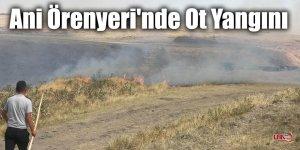 Ani Örenyeri'nde Ot Yangını