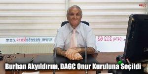 Burhan Akyıldırım, DAGC Onur Kuruluna Seçildi