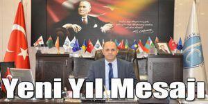 Kafkas Üniversitesi Rektörü Prof. Dr. Sami Özcan´ın Yeni Yıl Mesajı