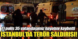 Ortaköy´de terör saldırısı! En az 35 kişi hayatını kaybetti