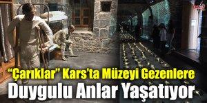 """""""Çarıklar"""" Kars'ta Müzeyi Gezenlere Duygulu Anlar Yaşatıyor"""