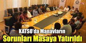 KATSO'da Manavların Sorunları Masaya Yatırıldı