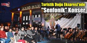 """Turistik Doğu Ekspresi'nde """"Senfonik"""" Konser"""