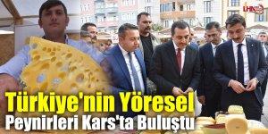 Türkiye'nin Yöresel Peynirleri Kars'ta Buluştu
