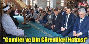 """""""Camiler ve Din Görevlileri Haftası"""""""