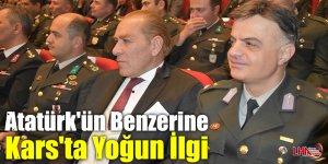 Atatürk'ün Benzerine Kars'ta Yoğun İlgi