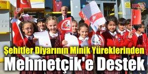 Şehitler Diyarının Minik Yüreklerinden Mehmetçik'e Destek